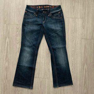 Rock Revival Gwen Bootcut Jeans 29 Flap Pocket